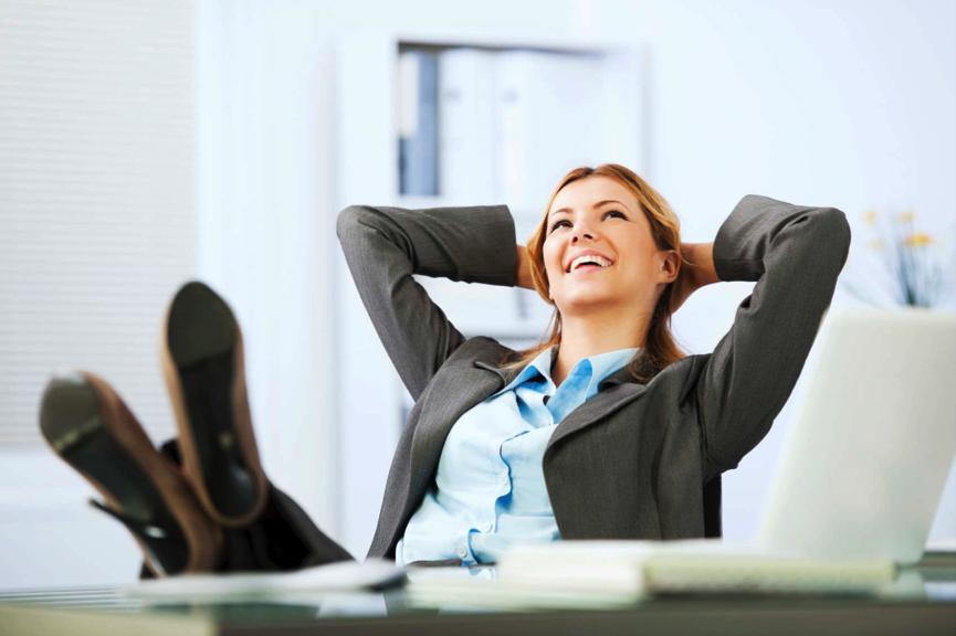 É possível ser feliz no trabalho.